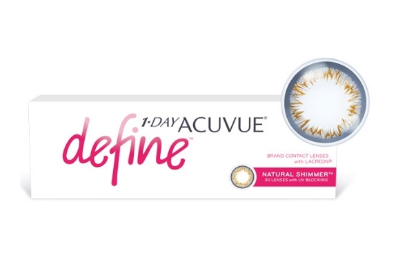 Контактные линзы acuvue 1 day define, 30
