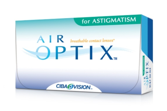 Контактные линзы air-optix for astigmatism, 3