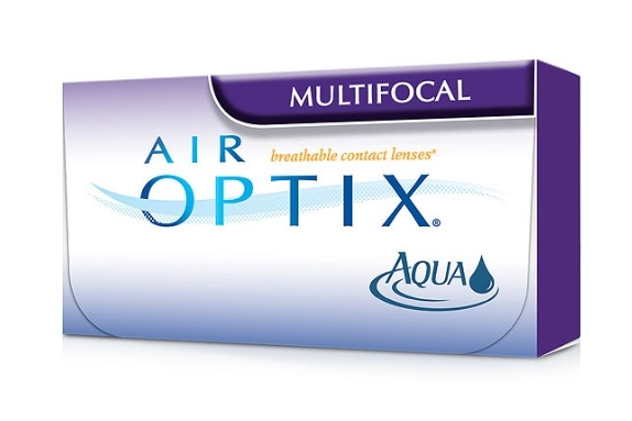 Контактные линзы air-optix multifocal, 3