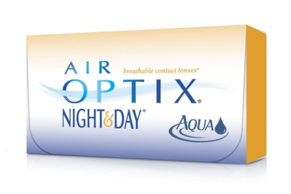 Контактные линзы air-optix night and day, 3