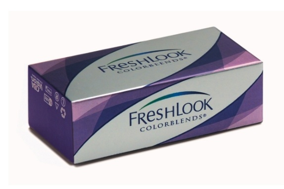 Контактные линзы freshlook colorblends, 2
